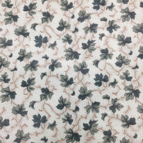 6 1/4 Yards Floral Traditional  Print  Fabric