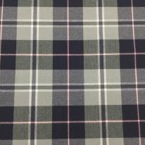 5 3/4 Yards Plaid/Check Traditional  Sheer Tweed  Fabric