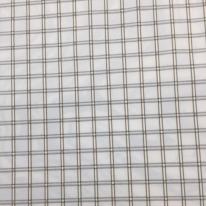 3 1/2 Yards Plaid/Check Traditional  Ribbed Satin  Fabric