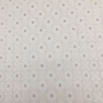 2 Yards Diamond Medallion  Embroidered Woven  Fabric