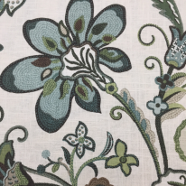 2 Yards Floral Traditional  Print Woven  Fabric